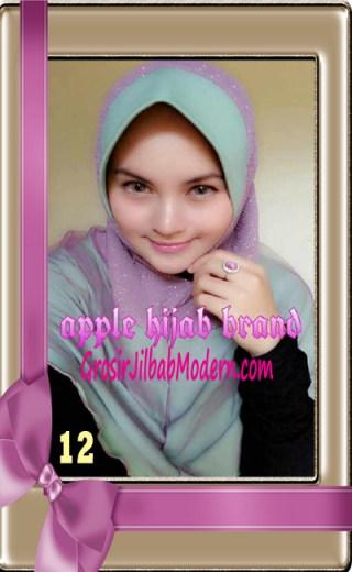 Jilbab Tutu Goldee Modis by Apple Hijab Brand No 12