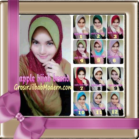 Jilbab Tutu Goldee Modis by Apple Hijab Brand Series
