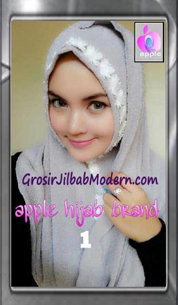 Jilbab Pashmina Instant Esme Praktis by Apple Hijab Brand Bo 1 Abu
