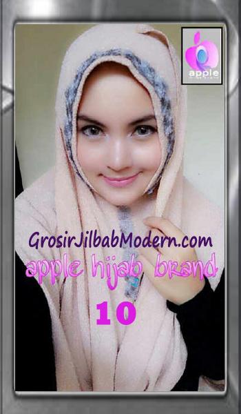 Jilbab Pashmina Instant Esme Praktis by Apple Hijab Brand No 10 Cream