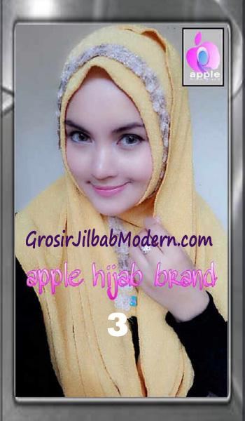 Jilbab Pashmina Instant Esme Praktis by Apple Hijab Brand No 3 Gold