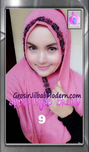 Jilbab Pashmina Instant Esme Praktis by Apple Hijab Brand No 9 Soft Fanta
