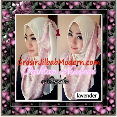 Jilbab Pashmina Instant Nurdewi Original by Narinda No 1 Lavender