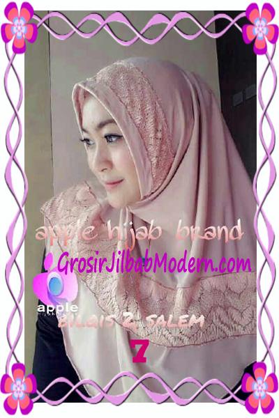 Jilbab Syria Bilqis Seri 2 Modis by Apple Hijab Brand No 7 Dusty Salem