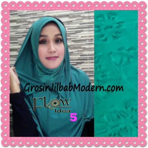 Jilbab Syria Modis Padma Original by Flow Idea No 5 Hijau Toska