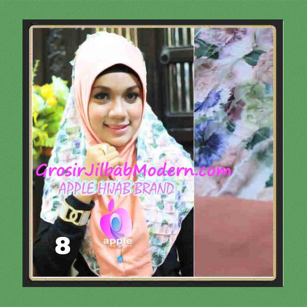 Jilbab Syria Sofia Frill Modis by Apple Hijab Brand No 8 Dusty Salem