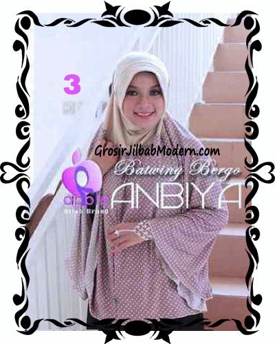 Jilbab Batwing Bergo Anbiya Praktis by Apple Hijab Brand No 3
