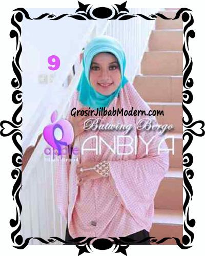 Jilbab Batwing Bergo Anbiya Praktis by Apple Hijab Brand No 9