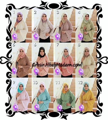 Jilbab Batwing Bergo Anbiya Praktis by Apple Hijab Brand Series