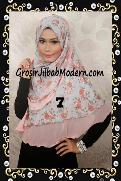 Jilbab Cerutti Trendy Khimar Nabila by Rizky Ananda No 7