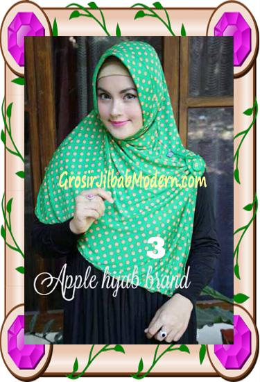 Jilbab Harian Modis Arzety Volca by Apple Hijab Brand No 3