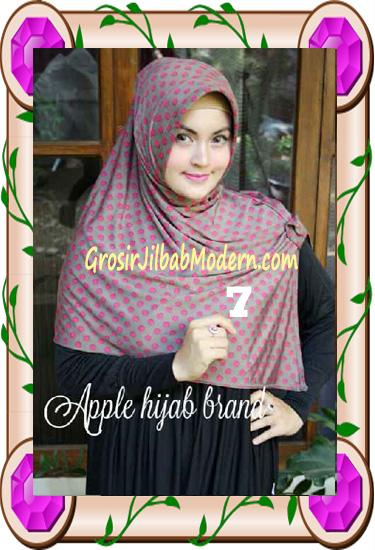 Jilbab Harian Modis Arzety Volca by Apple Hijab Brand No 7
