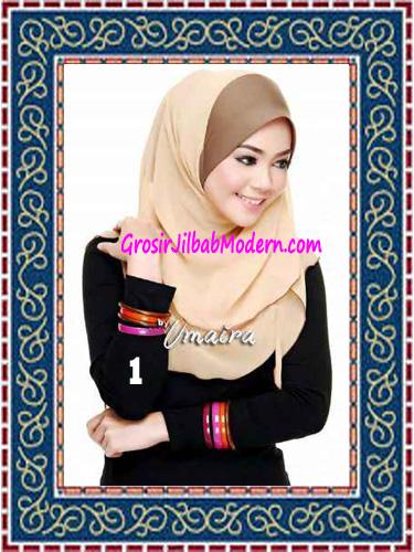 Jilbab Instant Model Baru Hazmi Trendy No 1