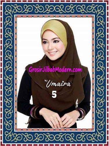 Jilbab Instant Model Baru Hazmi Trendy No 5