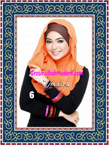 Jilbab Instant Model Baru Hazmi Trendy No 6