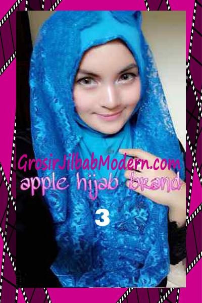 Jilbab Instant Syria Hoodie Layer Maryam by Apple Hijab Brand No 3 Turkies