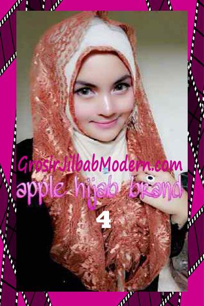 Jilbab Instant Syria Hoodie Layer Maryam by Apple Hijab Brand No 4 Cream