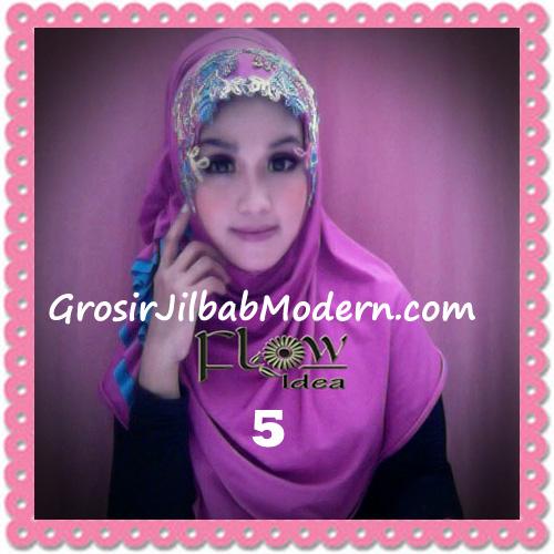 Jilbab Syria Ratu Trendy dan Chic Original by Flow Idea No 5 Fanta