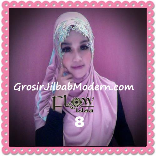 Jilbab Syria Ratu Trendy dan Chic Original by Flow Idea No 8 Dusty Pink