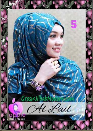 Jilbab Syria Syar'i Modis Al Lail by Apple Hijab Brand No 5 Turkies