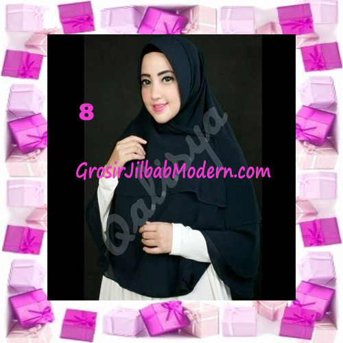 Jilbab Instant Khimar Mijwad Cerutti Original by Qalisya No 8