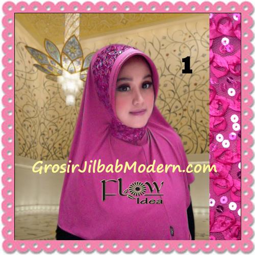 Jilbab Instant Syria Bergo Pet Modern Amira Cantik by Flow Idea No 1 Fanta