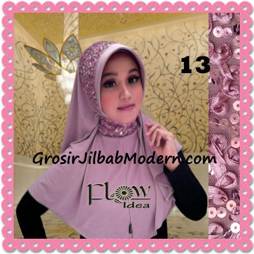 Jilbab Instant Syria Bergo Pet Modern Amira Cantik by Flow Idea No 13 Dusty Pink