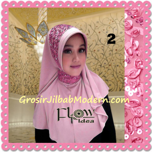 Jilbab Instant Syria Bergo Pet Modern Amira Cantik by Flow Idea No 2 Pink