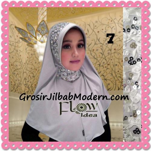 Jilbab Instant Syria Bergo Pet Modern Amira Cantik by Flow Idea No 7 Abu