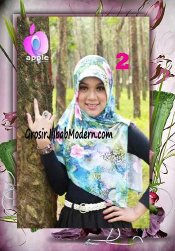 Jilbab Pet Modis Arzety Jameela Original by Apple Hijab Brand No 2