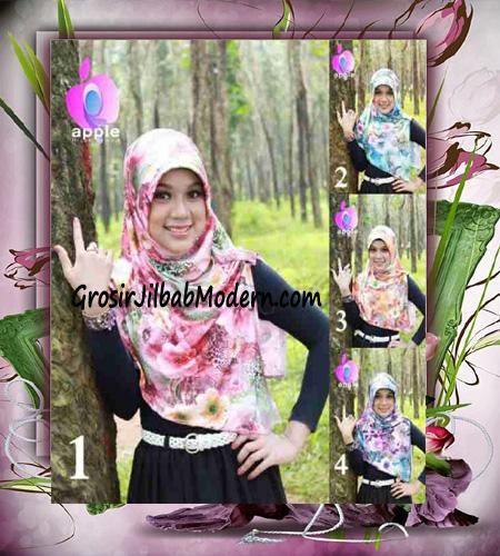 Jilbab Pet Modis Arzety Jameela Original by Apple Hijab Brand Series