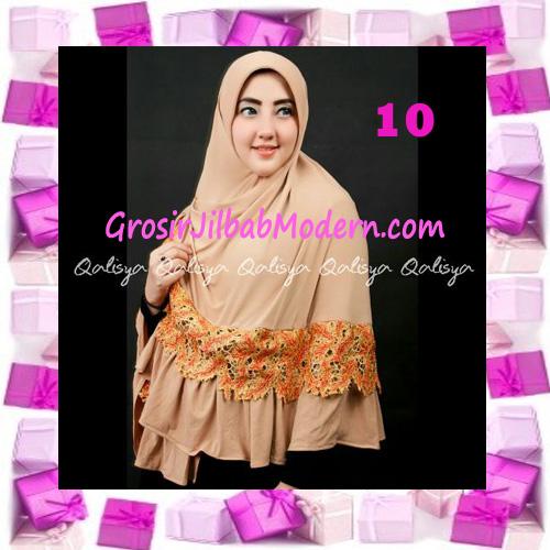 Jilbab Syar'i Qisya Renda 3 Dimensi Original by Qalisya No 10