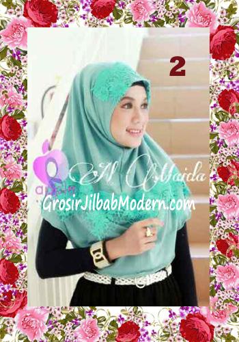 Jilbab Syria Instant Almaida Prada Edisi Lebaran by Apple Hjab Brand No 2