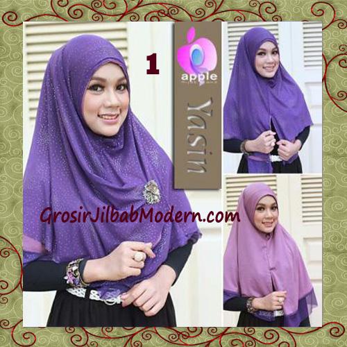 Jilbab Syria Modern Bolak Balik Yasin Mewah by Apple Hijab Brand No 1