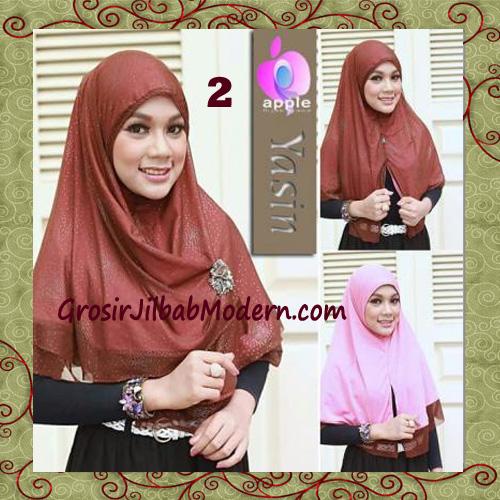 Jilbab Syria Modern Bolak Balik Yasin Mewah by Apple Hijab Brand No 2