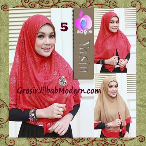 Jilbab Syria Modern Bolak Balik Yasin Mewah by Apple Hijab Brand No 5