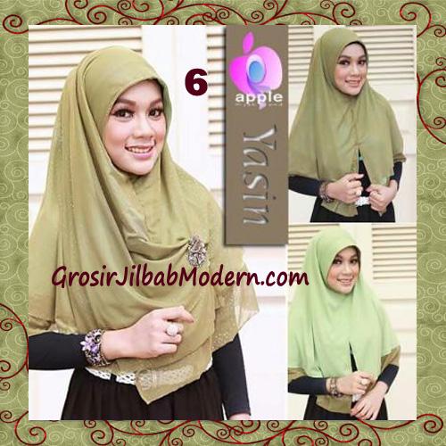 Jilbab Syria Modern Bolak Balik Yasin Mewah by Apple Hijab Brand No 6