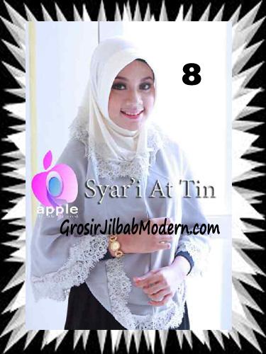 Jilbab Syria Syar'i At-Tin Exclusive by Apple Hijab Brand No 8