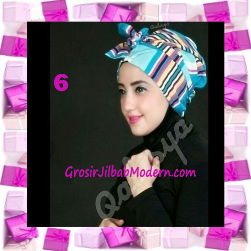 Turban Aisy Trendy & Chic Model Baru by Qalisya No 6