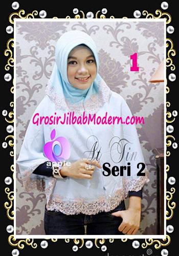 Jilbab Syar'i At Tin Exclusive Seri 2 by Apple Hijab Brand No 1