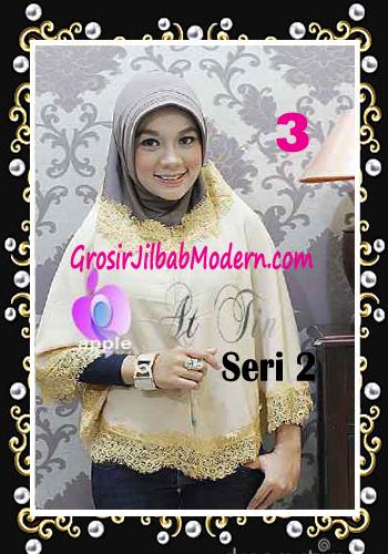 Jilbab Syar'i At Tin Exclusive Seri 2 by Apple Hijab Brand No 3