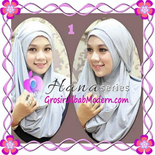 Pashmina Cantik Instant Hanna ala Dewi Sandra Sinetron CHSI Original by Apple Hijab Brand No 1 Abu