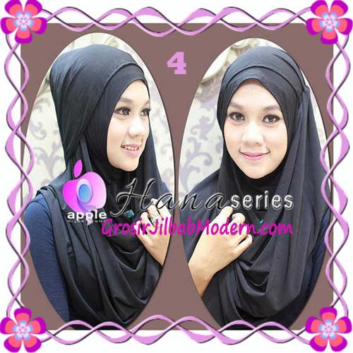 Pashmina Cantik Instant Hanna ala Dewi Sandra Sinetron CHSI Original by Apple Hijab Brand No 4 Hitam