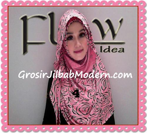 Jilbab Instant Syria Layer Rosella By Flow Idea Terbaru No 4 Pink