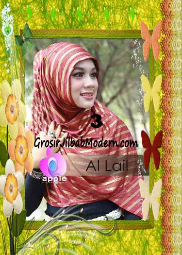Jilbab Syria Instant Modern Al Lail Salur Original By Apple Hijab Brand No 3 Marun