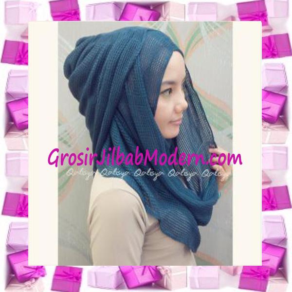 Pashmina Instant Hana Rajut ala Dewi Sandra Sinetron CHSI Original by Qalisya