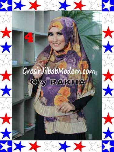 Jilbab Bolak Balik Jersey Flower 4 by Rakha No 4