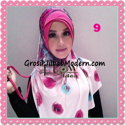 Jilbab Harian Syria Kerut Florence Cantik Original by Flow Idea No 9