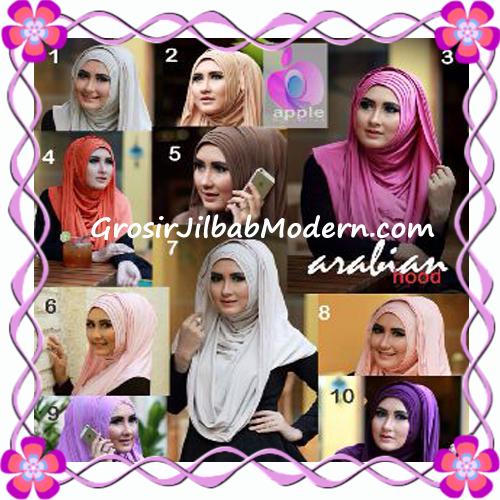Jilbab Hoodie Instan Arabian by Apple Hijab Brand Series