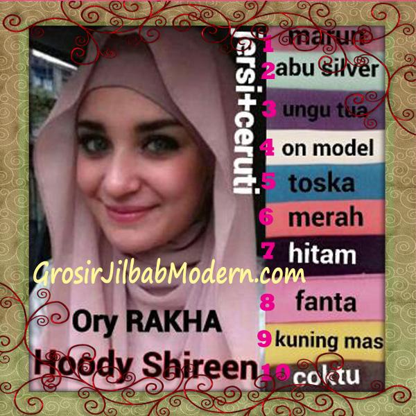 Jilbab Hoodie Instant Shireen Stylish by Rakha Series